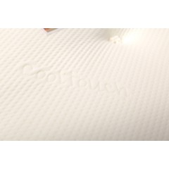 "5ft Hilton 10"" Memory Foam Sprung Mattress"