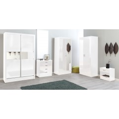 Alpha White Gloss Two Tone 2 Door Std Set