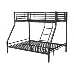 Montreal Black Triple Bunk Bed