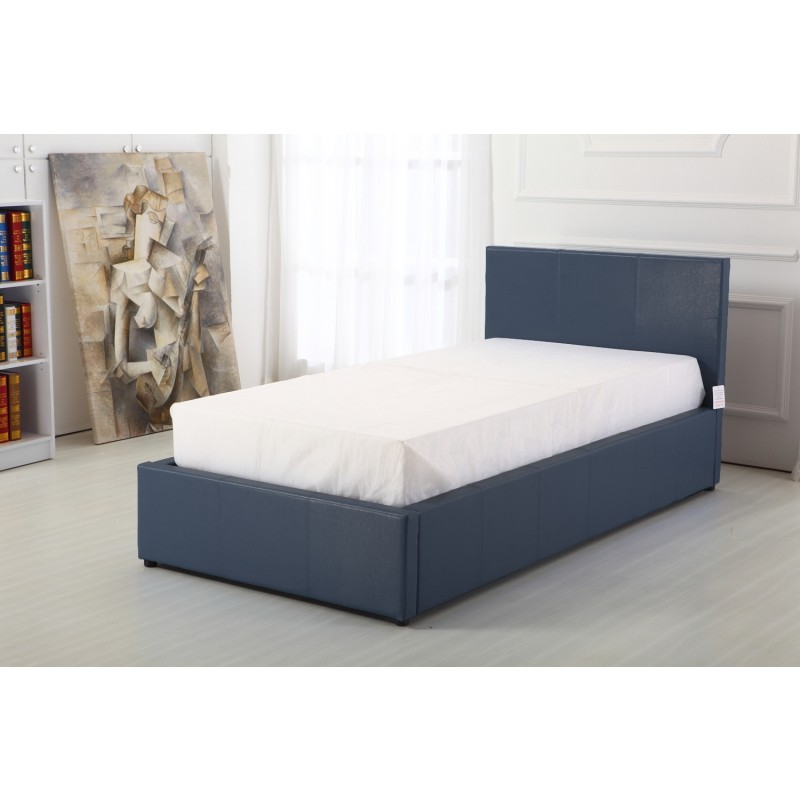 Boston Grey 3ft Ottoman Storage Bed