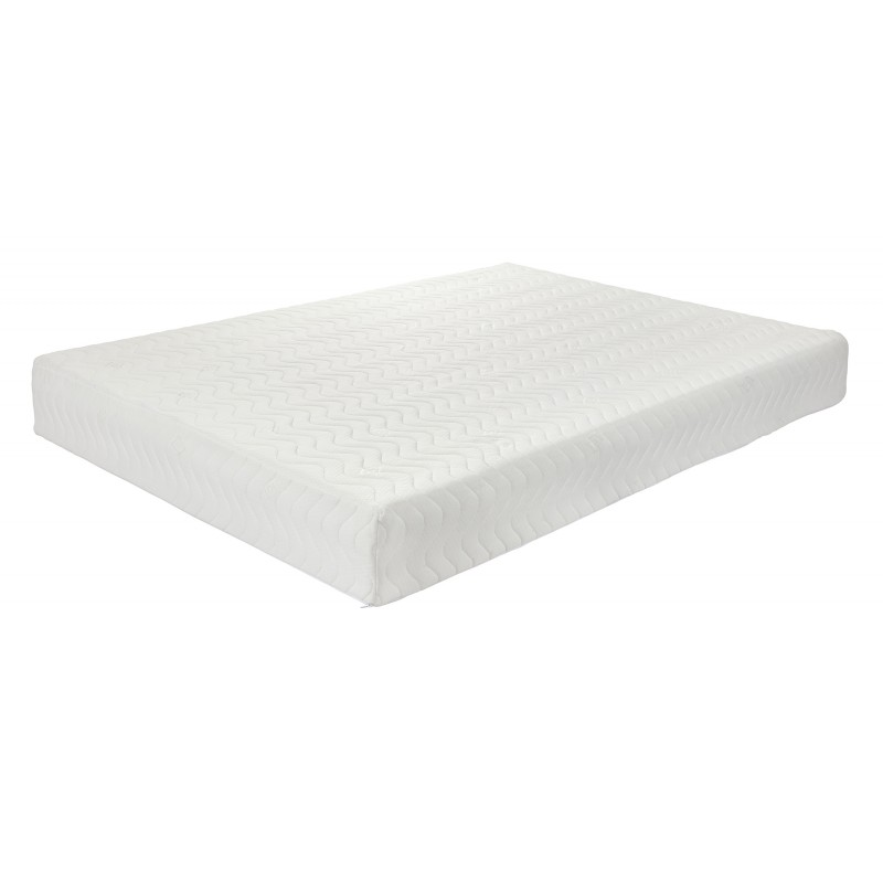 "4ft6 EuroMEM 5"" Reflex Foam + 1"" Memory Foam Roll Up 6"" Mattress"