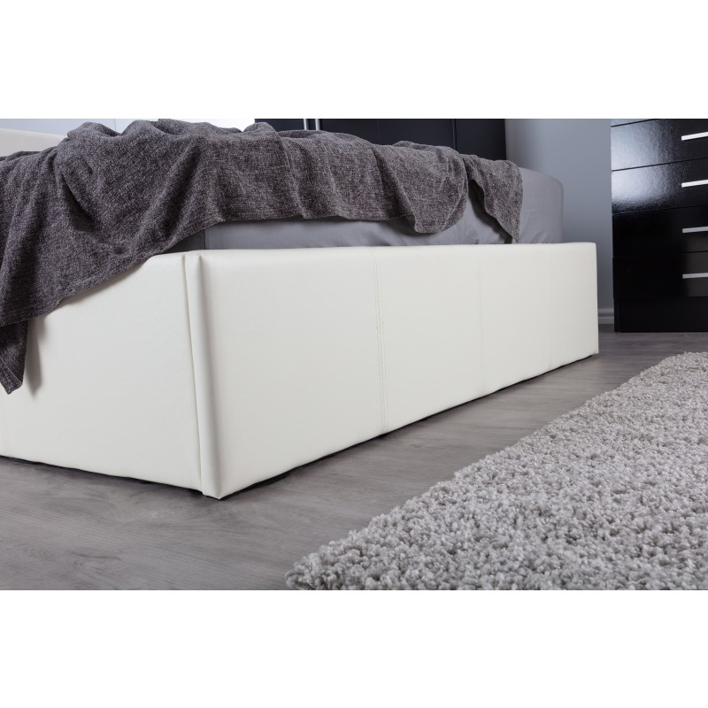 Boston Off White 4FT Small Double Ottoman Bed