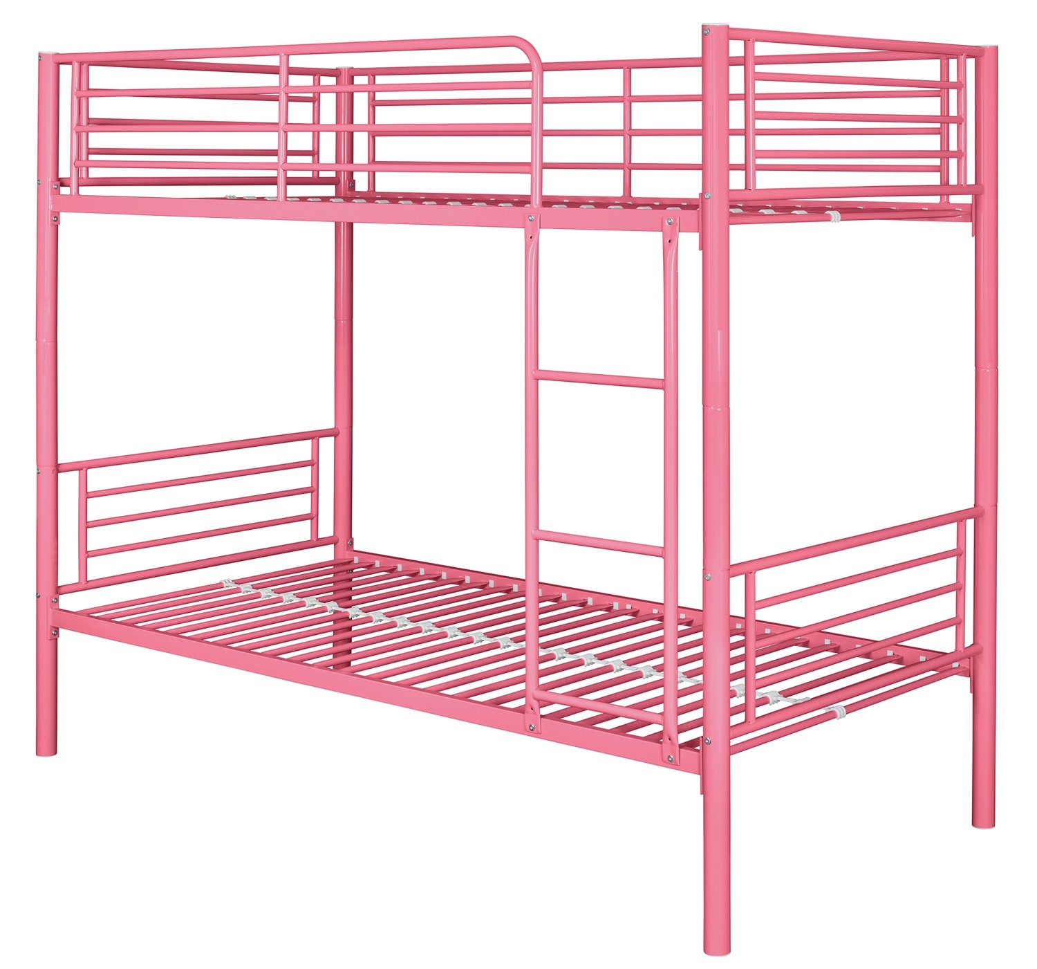 Montreal Pink Single Bunk Bed Ark Furniture