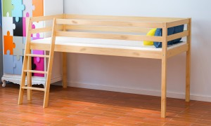 3ft Single Mid Sleeper Bed Oak