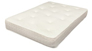 "4ft Hilton 10"" Memory Foam Sprung Mattress"
