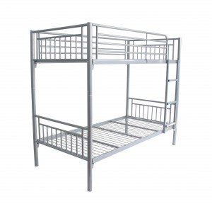 Cambridge Metal Bunk Bed Silver
