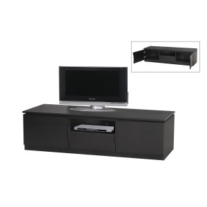 Orb Black Widescreen TV Cabinet