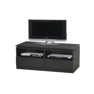 Orb Black Small TV Cabinet