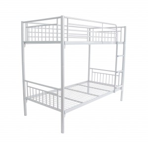 Cambridge Metal Bunk Bed White